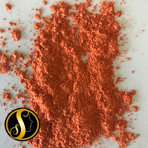 Orange Red Mica