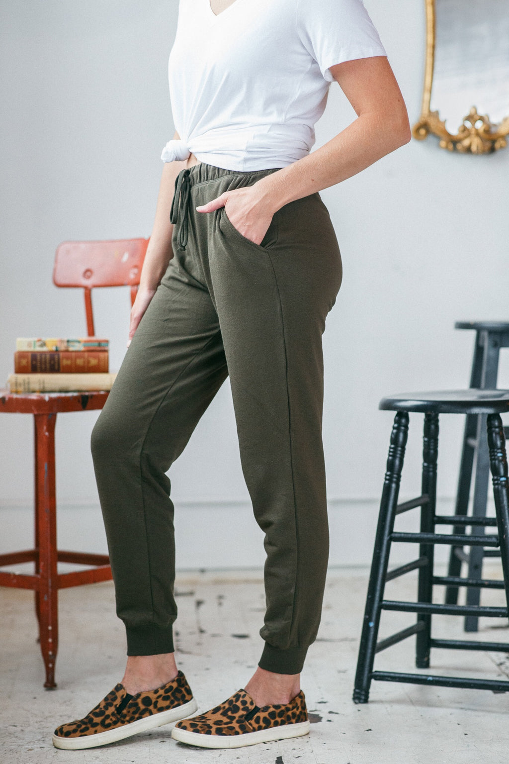 Everyday Jogger Pant - Olive