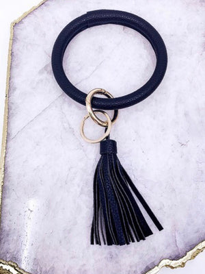 Bangle Keychain with Tassel (3 colors)