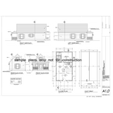 modular prefab NSW1838 house plan