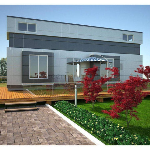 TINY OFFICE STUDIO SUITE 720SF 2 STORY 8'X36' SHE SHED MAN CAVE GARDEN SUITE-GreenTerraHomes