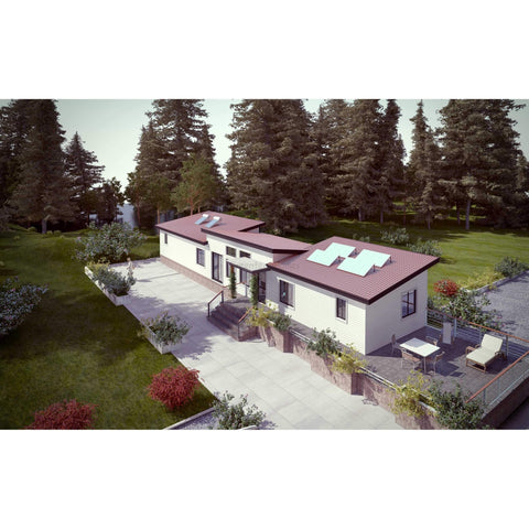 2BR to 4BR 912 sq ft CSA Certified Z240MH Mobile Home - 12'X76'-Mobile Home-BryanBaeumler-GreenTerraHomes