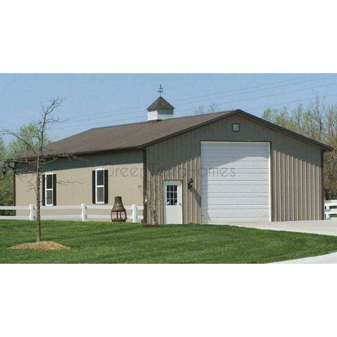 Steel Buildings - 40' Wide Metal Buildings FREE Shipping, Local Installation available-Steel Building-BryanBaeumler-GreenTerraHomes