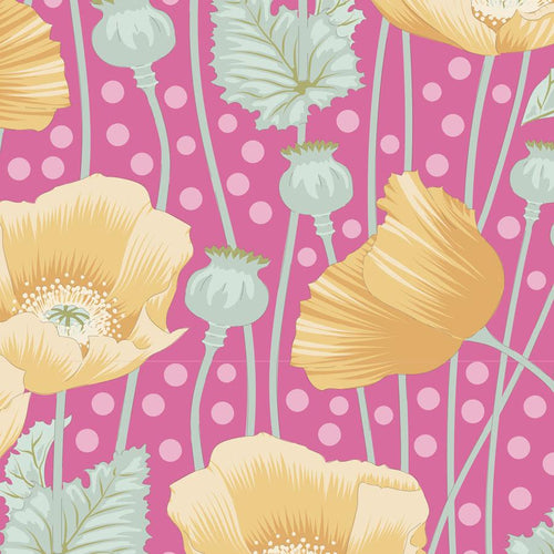 Tilda Gardenlife - Poppies Pink