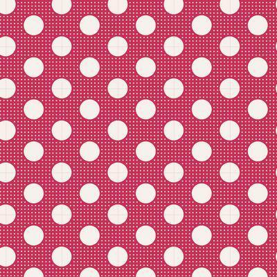 Tilda Basics Medium Dots in Red