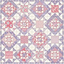 Load image into Gallery viewer, Pottery Star Quilt Pattern