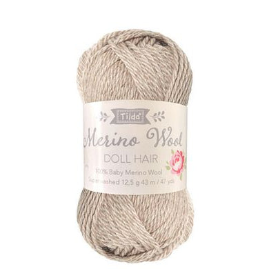 **Pre-Order Tilda Yarn for Doll Hair in Blonde