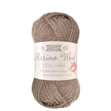 Tilda Yarn for Doll Hair in Ash Blonde
