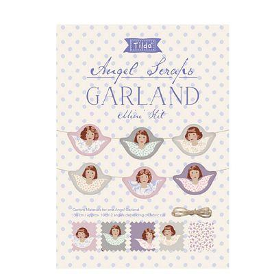 Old Rose Angel Scrap Garland Mini Kit