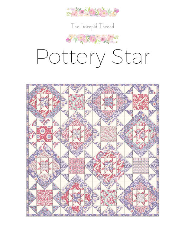 Pottery Star Quilt Pattern