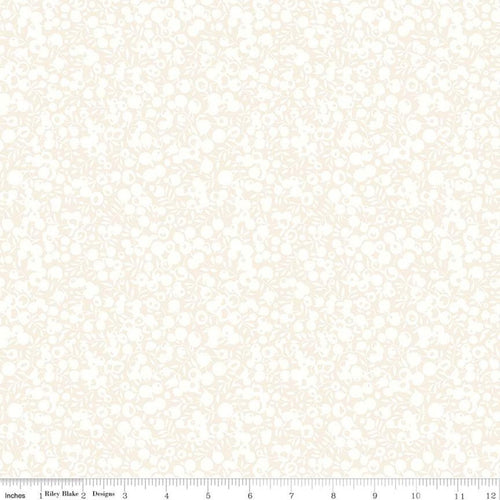 Liberty Fabrics  Quilting Cotton - Wiltshire Shadow Oyster White
