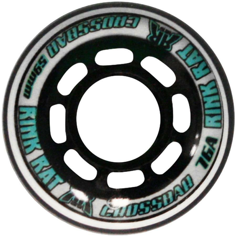 CROSSBAR GOALIE WHEELS 59MM 76A - Pack of 10 Wheels