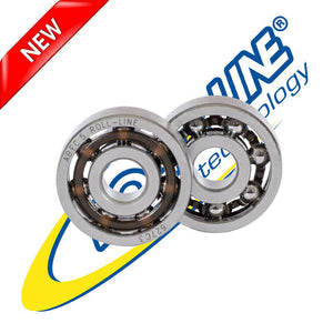 Roll-Line Carbon J Bearings - Set of 16 - 7mm or 8mm