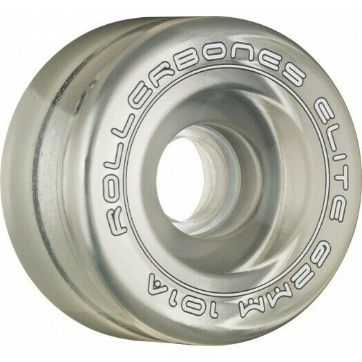 Rollerbones Art Elite Wheels 101A Clear 62mm - 8 Pack