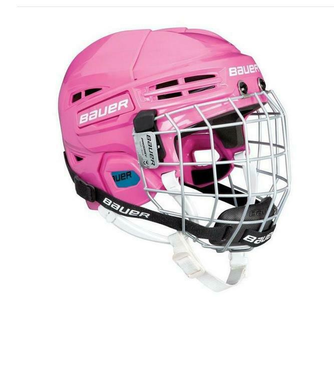 Bauer Prodigy Youth Helmet Combo - Pink