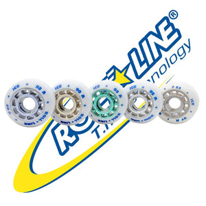 Roll-Line Ice Dance Wheels 63 mm - Set of 8