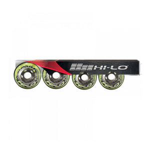 Hi-Lo Switch Wheels - 4 Pack (Indoor/Outdoor)