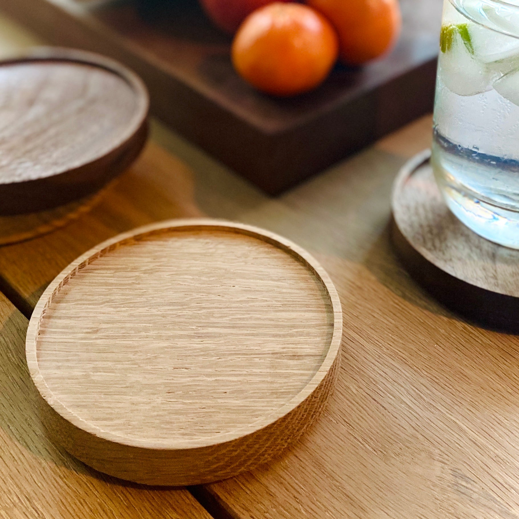 Wood Coasters - abdobuilt