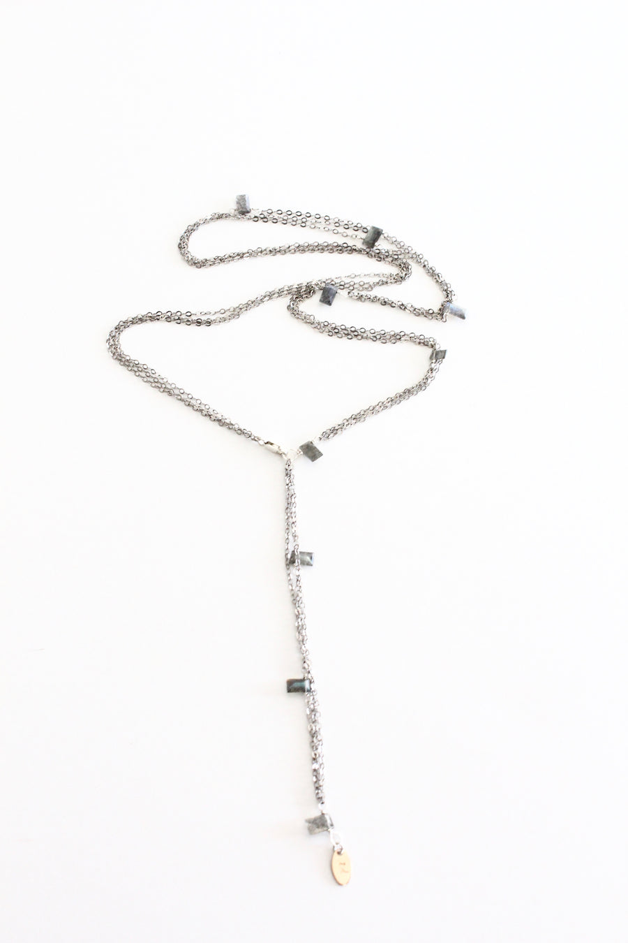 Silver Strands Convertible Chain