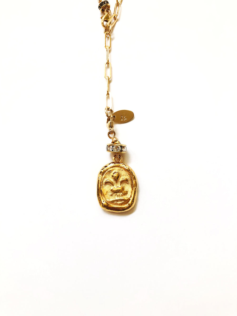 Antiquity Coin Pendant