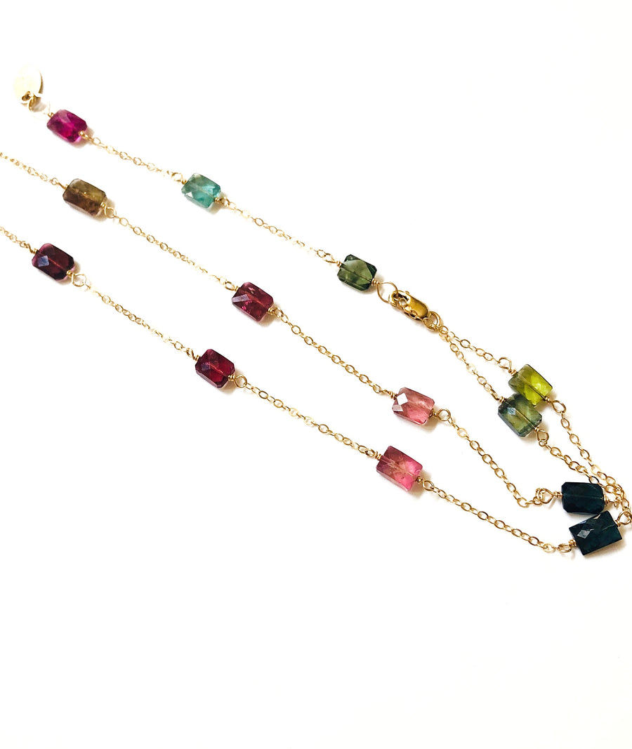 Tourmaline Convertible Y Necklace