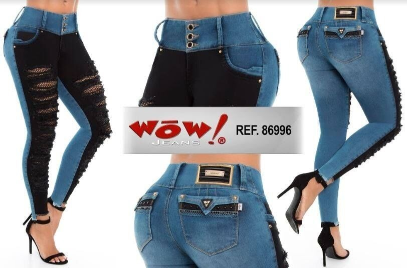 JEANS COLOMBIANO LEVANTACOLA 86996