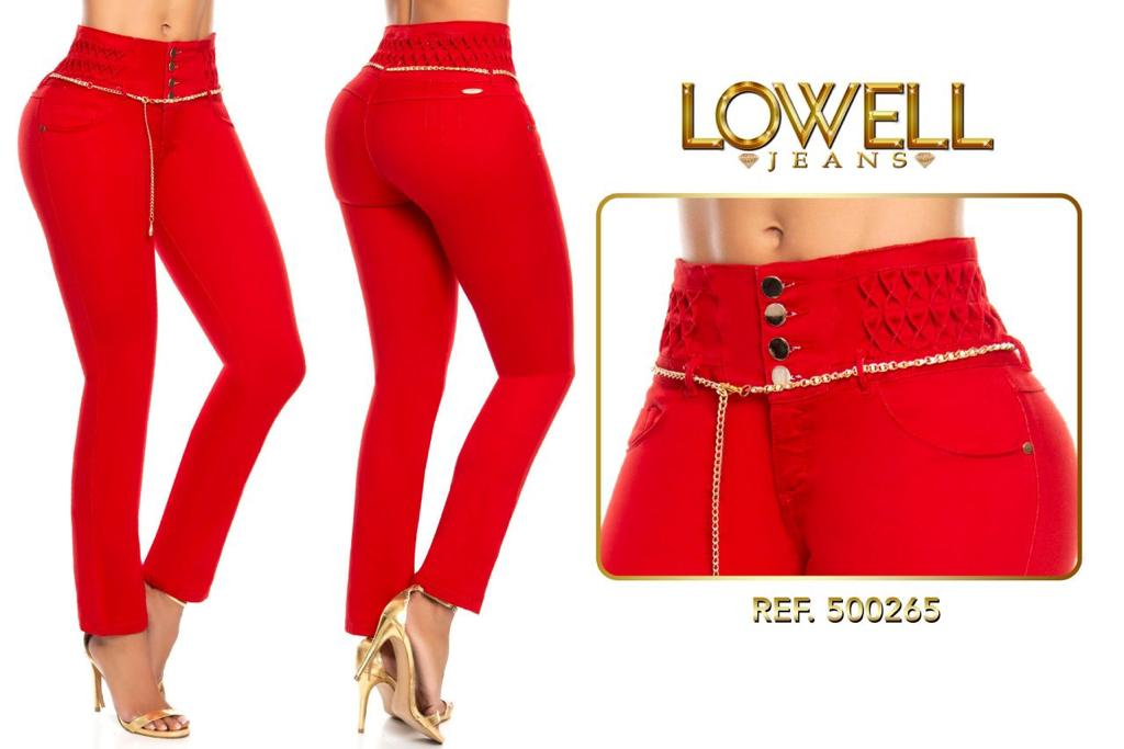 JEANS COLOMBIANO LEVANTACOLA 500265