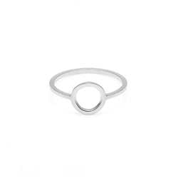 Circle Ring - Silver - Myia Bonner Jewellery