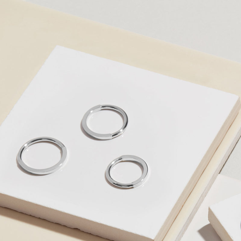 Paradox Band - Silver - Myia Bonner Jewellery
