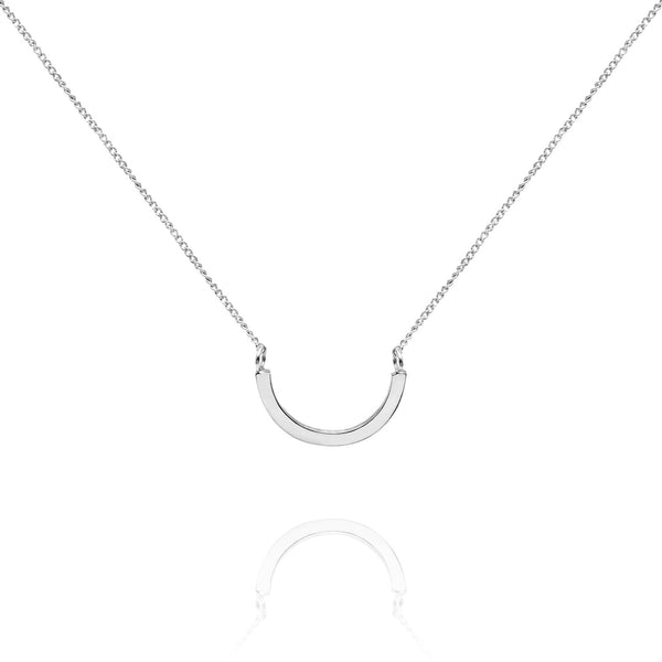 Arc Necklace - Silver - Myia Bonner Jewellery