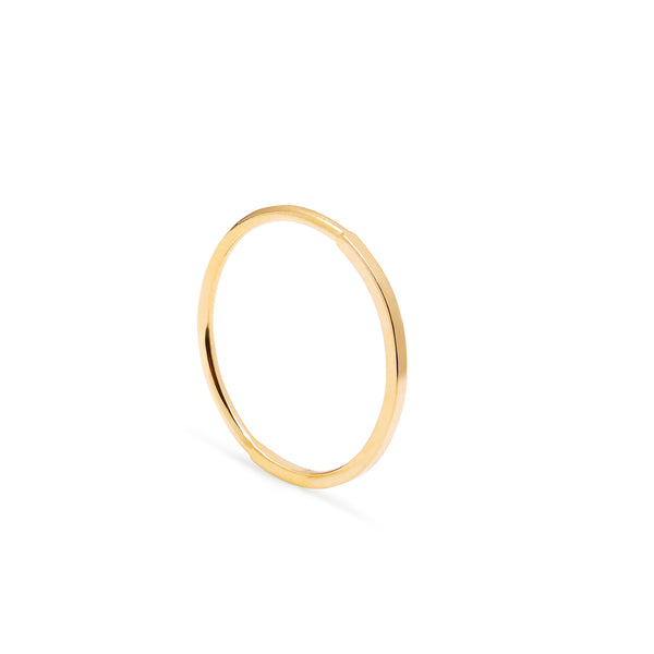 Paradox Skinny Stacking Ring - Gold - Myia Bonner Jewellery
