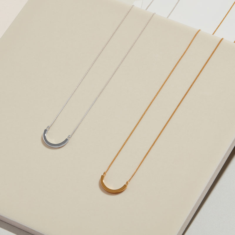 Arc Necklace - Gold - Myia Bonner Jewellery