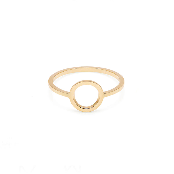 Circle Ring - Gold - Myia Bonner Jewellery