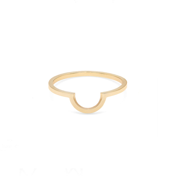 Arc Ring - Gold - Myia Bonner Jewellery