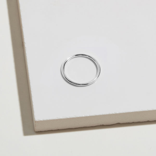 Classic Round Ring - Silver