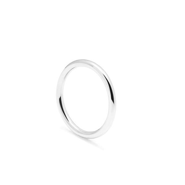 Classic Round Band - Silver - Myia Bonner Jewellery