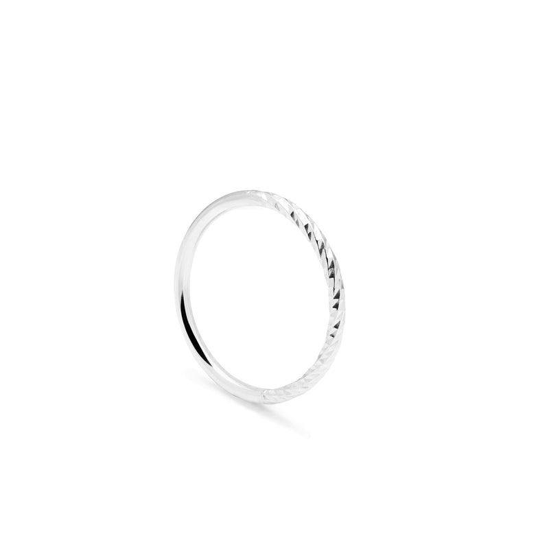 Diamond Paradox Ring - Silver - Myia Bonner Jewellery