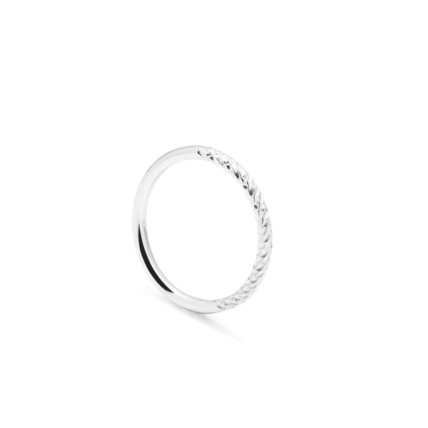 Diamond Paradox Band - Silver - Myia Bonner Jewellery