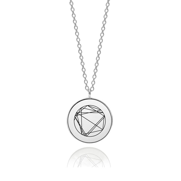 Mini Natal Necklace - Silver - Myia Bonner Jewellery