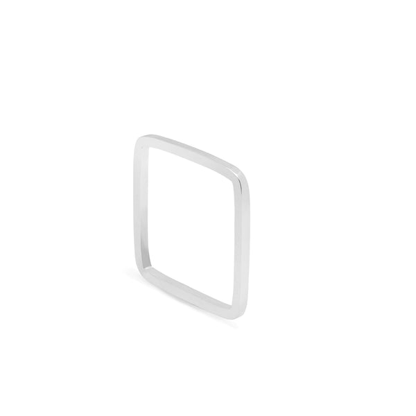Square Ring - Silver - Myia Bonner Jewellery