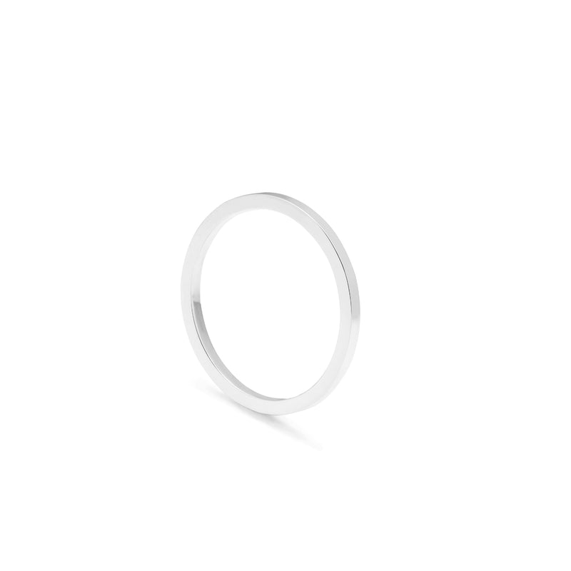 Classic Square Ring - Silver