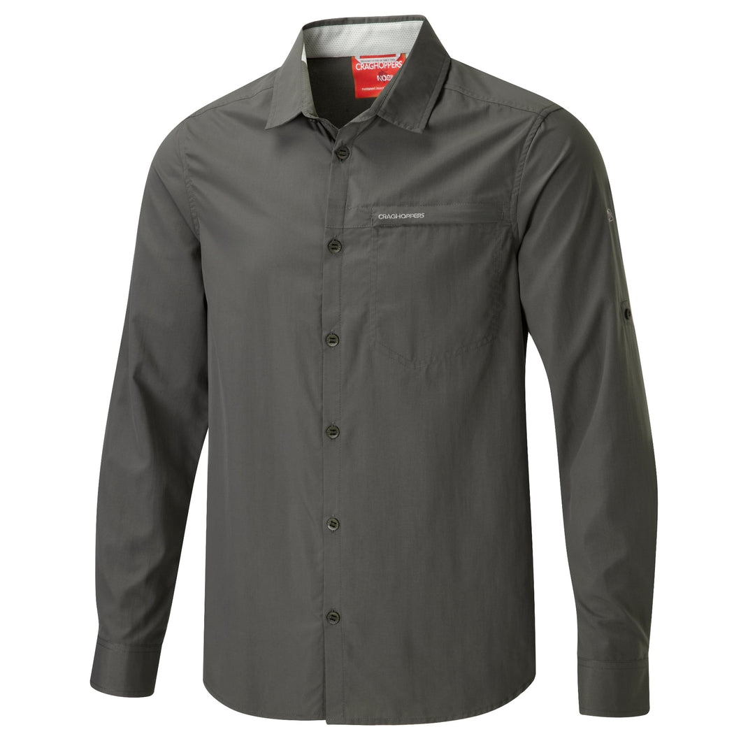 CRAGHOPPERS NOSI BELAY LS SHIRT M