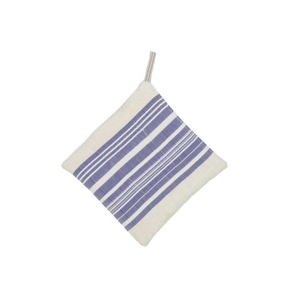 Handmade Cotton Pot Holder Striped
