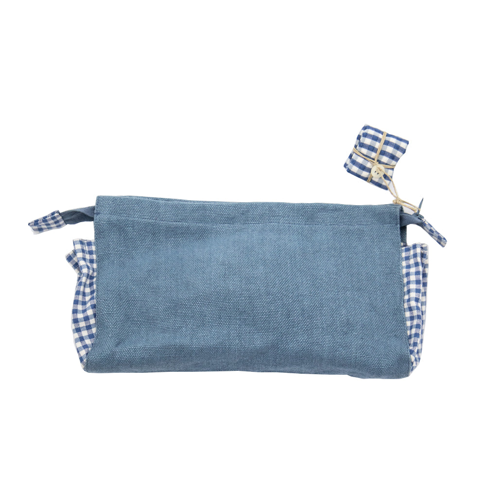 Linen Handmade Surprise Clutch