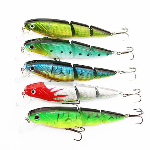 1PC 2 Joint Fishing lure