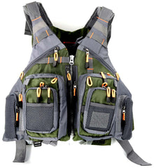 Men Outdoor Fishing Vest - Best Water Jacket For Boat, Lake & River Fishing