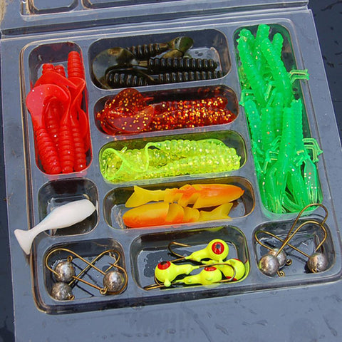 Artificial Fishing Bait Bundle
