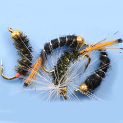 Bead Head Nymphs Flies Salmon Trout Fly Fishing Lures