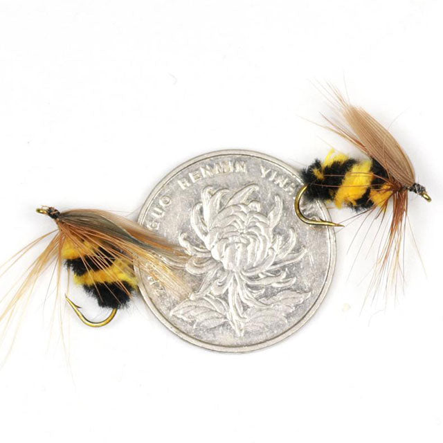 artificial bumble bee fly fishing lure