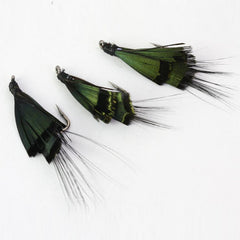 40Pcs Mrs. Simpson Flies Streamers Trout Fly Fishing Lures